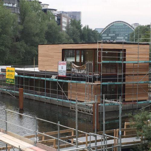 Hausboot Holz